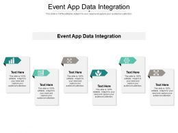 Event App Data Integration Ppt Powerpoint Presentation Styles Designs Download Cpb