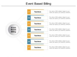 Event Based Billing Ppt Powerpoint Presentation Pictures Format Ideas Cpb