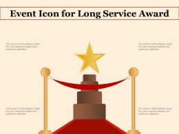 Event Icon For Long Service Award
