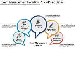 Event Management Logistics Powerpoint Slides
