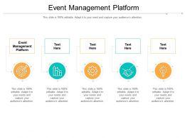 Event Management Platform Ppt Powerpoint Presentation Ideas Example Topics Cpb
