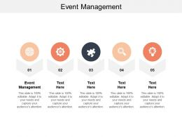 Event Management Ppt Powerpoint Presentation Gallery Slides Cpb