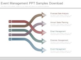 Event Management Ppt Samples Download