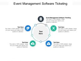 Event Management Software Ticketing Ppt Powerpoint Presentation Model Master Slide Cpb