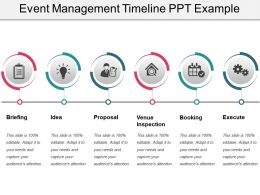 Event Management Timeline Ppt Example