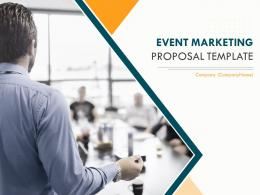 Event Marketing Proposal Template Powerpoint Presentation Slides