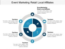 Event Marketing Retail Local Affiliates Ppt Powerpoint Presentation Slides Infographics Cpb