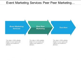Event Marketing Services Peer Peer Marketing Marketing Financial Services Cpb