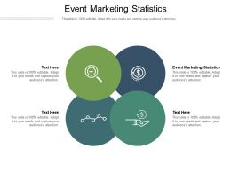 Event Marketing Statistics Ppt Powerpoint Presentation Slides Graphics Cpb