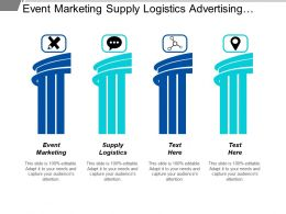 Event Marketing Supply Logistics Advertising Marketing Competitors Analysis Cpb
