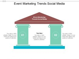Event Marketing Trends Social Media Ppt Powerpoint Presentation Summary Professional Cpb