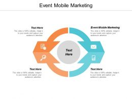 Event Mobile Marketing Ppt Powerpoint Presentation Ideas Guidelines Cpb