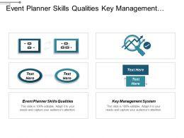 Event Planner Skills Qualities Key Management System Strategy Development Cpb