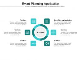 Event Planning Application Ppt Powerpoint Presentation Inspiration Objects Cpb