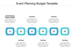 Event Planning Budget Template Ppt Powerpoint Presentation Slides Templates Cpb