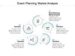 Event Planning Market Analysis Ppt Powerpoint Presentation Inspiration Slide Portrait Cpb