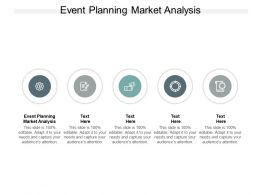 Event Planning Market Analysis Ppt Powerpoint Presentation Outline Example Introduction Cpb