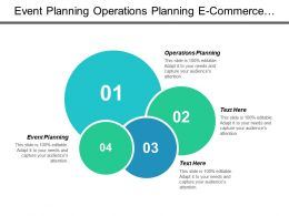 Event Planning Operations Planning E Commerce Management Start Business Cpb