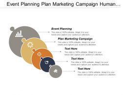 Event Planning Plan Marketing Campaign Human Resources Analysis