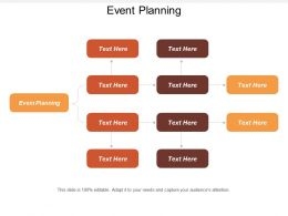 Event Planning Ppt Powerpoint Presentation Infographic Template Deck Cpb