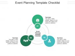 Event Planning Template Checklist Ppt Powerpoint Presentation Outline Background Designs Cpb