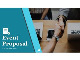 Event Proposal Powerpoint Presentation Slides