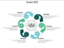 Event ROI Ppt Powerpoint Presentation Slides Portrait Cpb