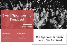 Event Sponsorship Proposal Powerpoint Presentation Slides