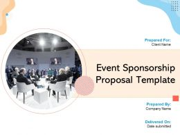 Event Sponsorship Proposal Template Powerpoint Presentation Slides
