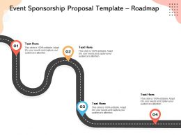 Event Sponsorship Proposal Template Roadmap Ppt Powerpoint Presentation Styles Show