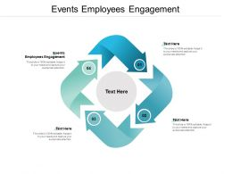 Events Employees Engagement Ppt Powerpoint Presentation Show Sample Cpb