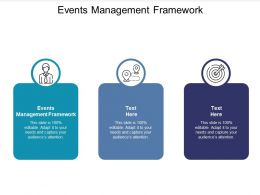Events Management Framework Ppt Powerpoint Presentation Layouts Template Cpb