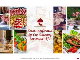 Events Performed By Our Catering Company L2053 Ppt Powerpoint Summary Ideas