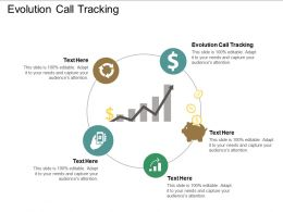 Evolution Call Tracking Ppt Powerpoint Presentation Gallery Display Cpb