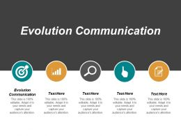 Evolution Communication Ppt Powerpoint Presentation Layouts Deck Cpb