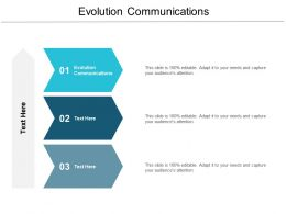 Evolution Communications Ppt Powerpoint Presentation Icon Inspiration Cpb