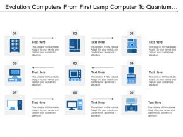Evolution Computers From First Lamp Computer To Quantum Computer