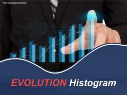 Evolution Histogram Powerpoint Presentation Slides