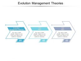 Evolution Management Theories Ppt Powerpoint Presentation Layouts Backgrounds Cpb