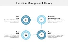 Evolution Management Theory Ppt Powerpoint Presentation Backgrounds Cpb