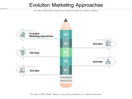 Evolution Marketing Approaches Ppt Powerpoint Presentation Portfolio Show Cpb