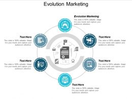 Evolution Marketing Ppt Powerpoint Presentation Outline Graphics Cpb