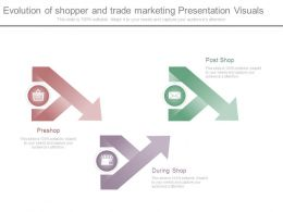 Evolution Of Shopper And Trade Marketing Presentation Visuals