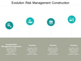 Evolution Risk Management Construction Ppt Powerpoint Presentation Professional Cpb