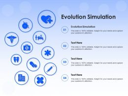 Evolution Simulation Ppt Powerpoint Presentation Infographic Template Designs Download