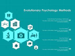 Evolutionary Psychology Methods Ppt Powerpoint Presentation Professional Summary