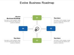Evolve Business Roadmap Ppt Powerpoint Presentation Infographic Template Picture Cpb