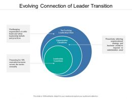 Evolving Connection Of Leader Transition