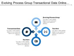Evolving Process Group Transactional Data Online Tracking Customer Service