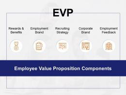 Evp Employment Feedback Employment Brand Ppt Powerpoint Presentation Model Background Image